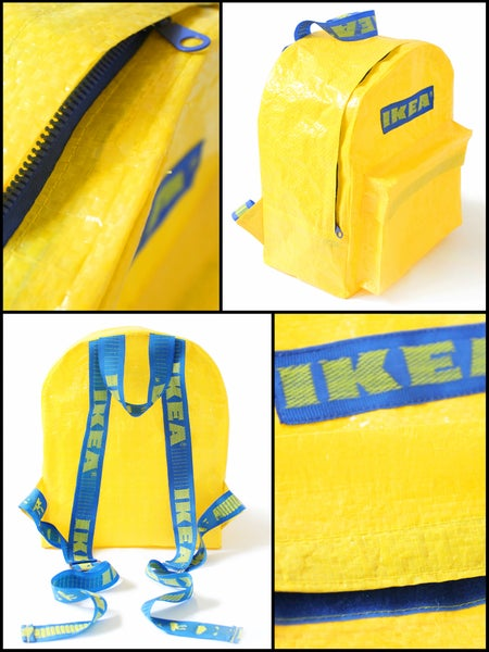 Image of YELLOW IKEA BACKPACK 2.0