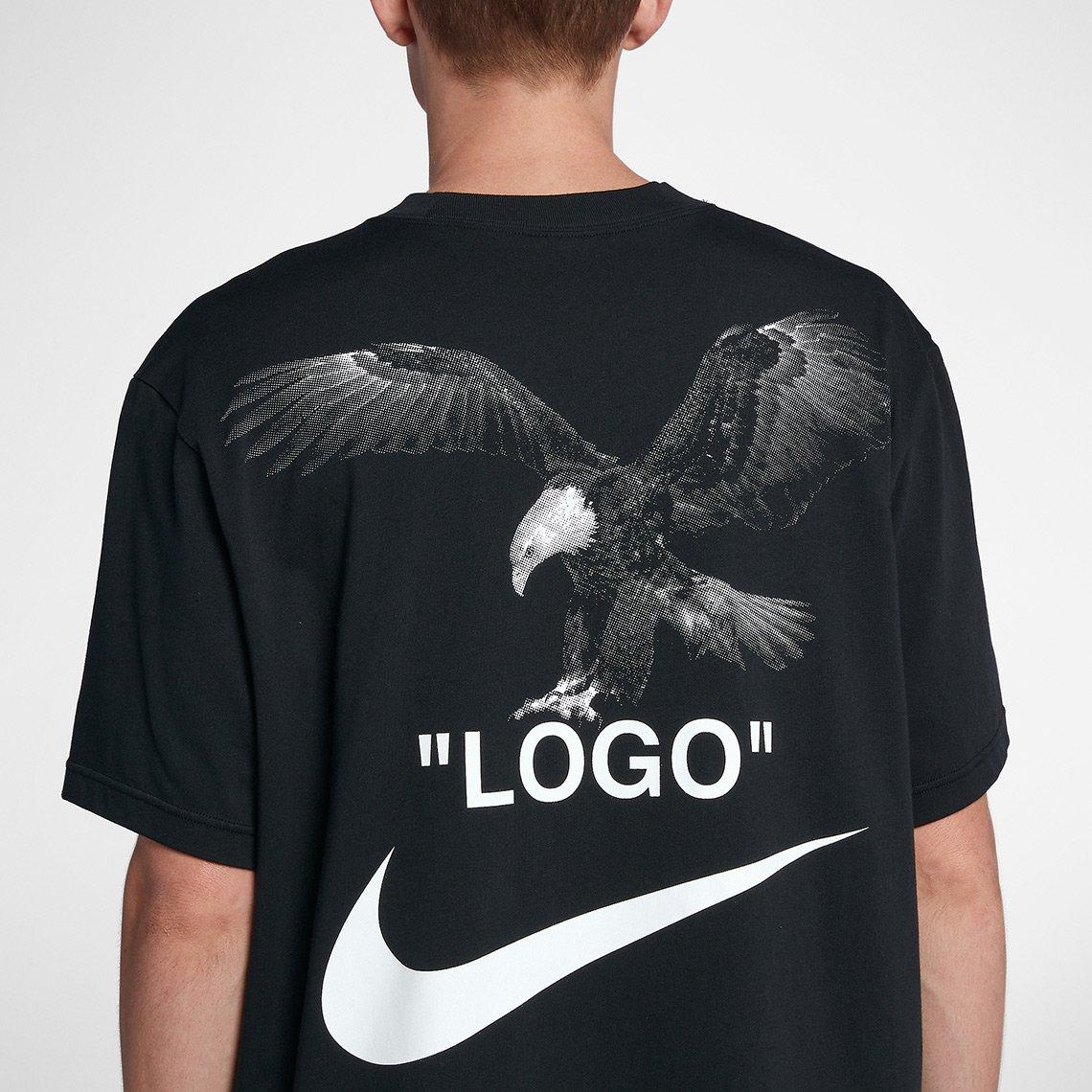 nike x off white tee shirt