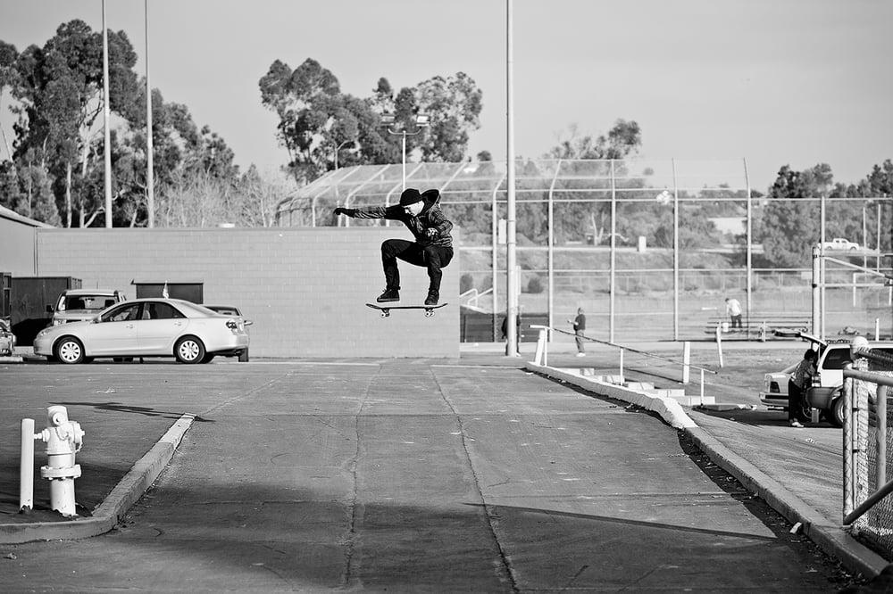 Image of Heath Kirchart Kickflip