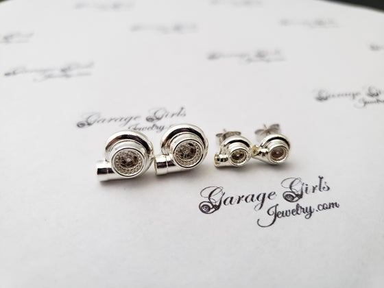 Image of Turbo Post Earrings