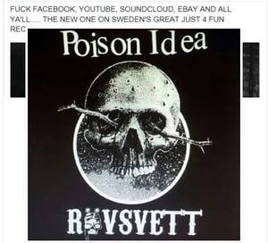 Image of POISON IDEA/RÖVSVETT-split EP