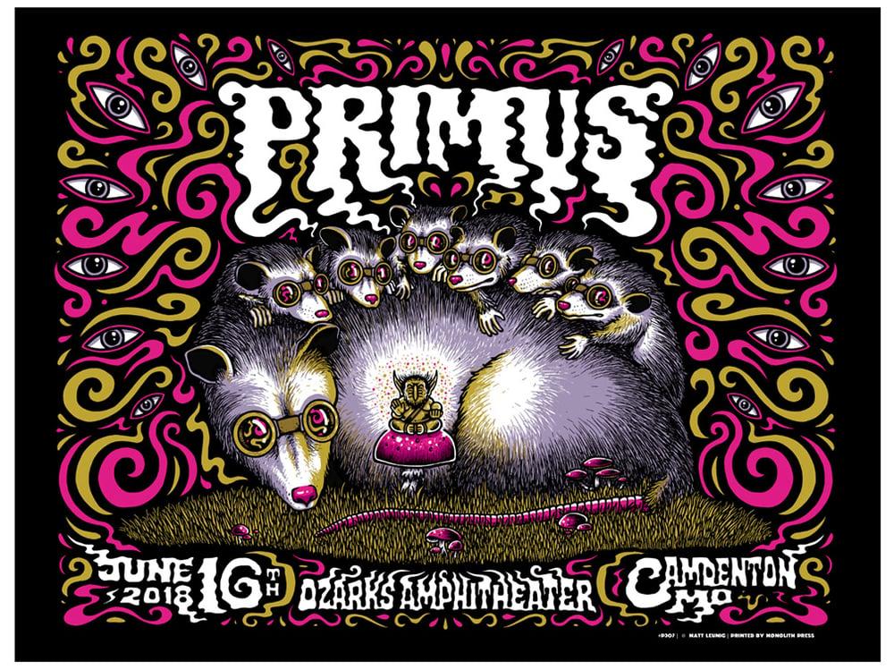 Image of Primus @ Camdenton MO - 2018