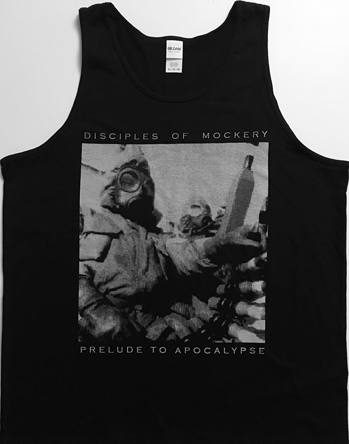 "Image of Disciples Of Mockery "" Prelude to Apocalypse "" Tank Top"