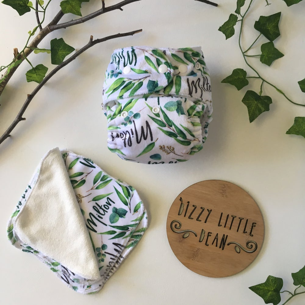 Image of Custom Name Nappies