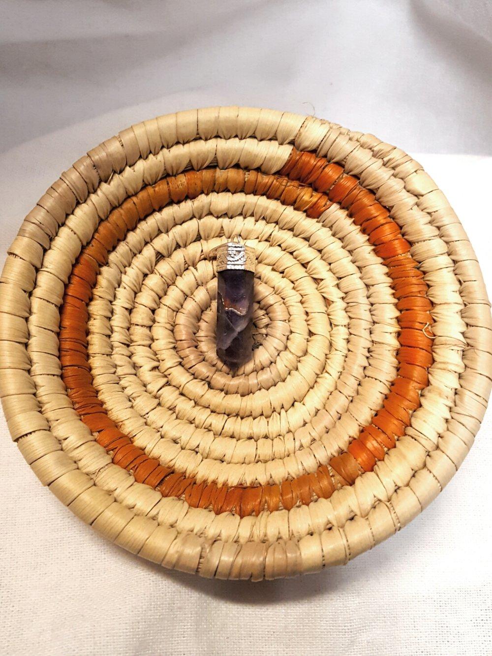 Image of Quartz Pendants - Natural (varied)