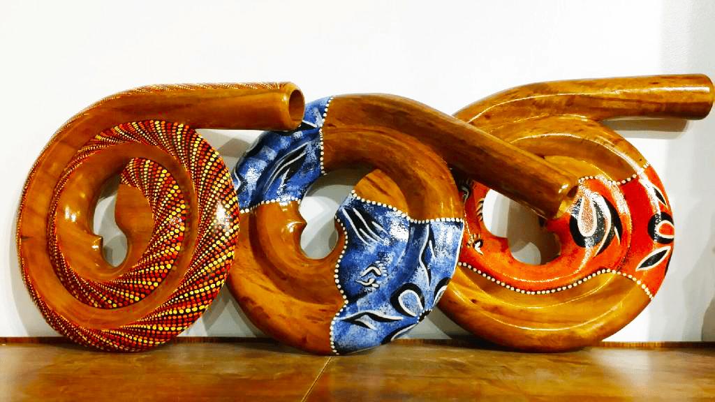 Image of 3 Dejerido Instruments