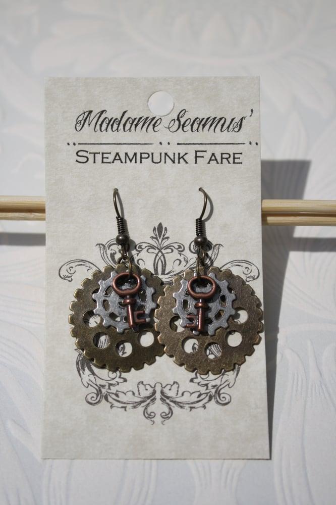 Image of Gear Earrings