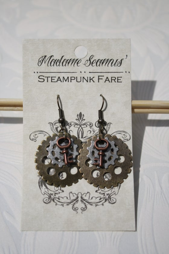 Image of Gear Earrings