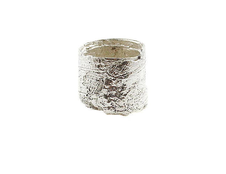 Image of bark foil ring