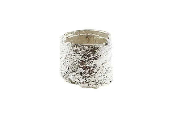Image of bark foil ring