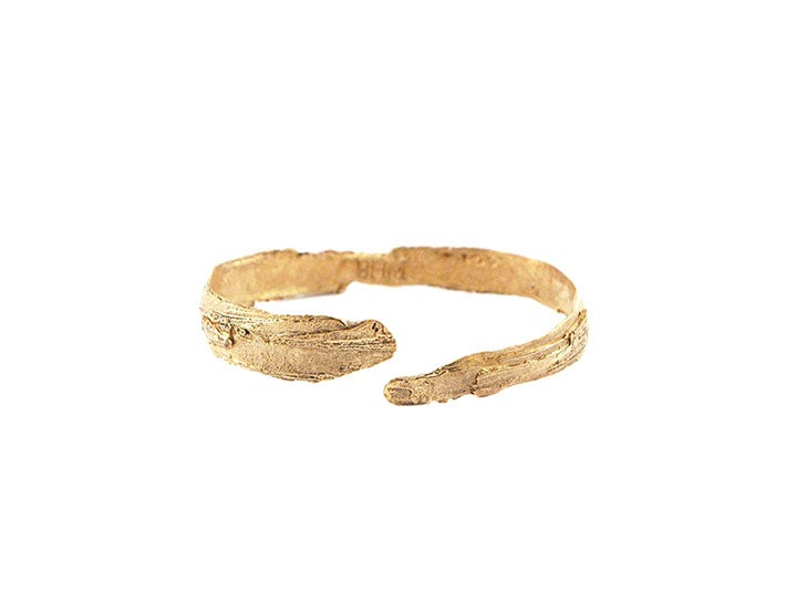 Image of Bark Oval Cuff