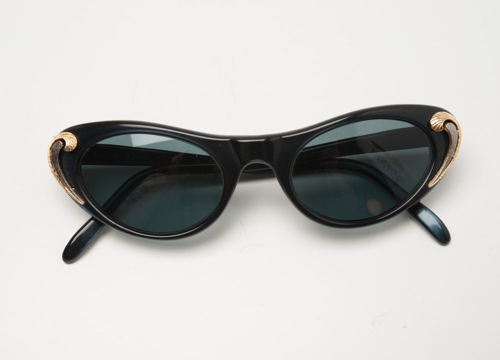 d182b61a905 ... Image of Vintage Christian Dior Sunglasses from the 1950 s Excellent Cat  Eye Couture Designer ...