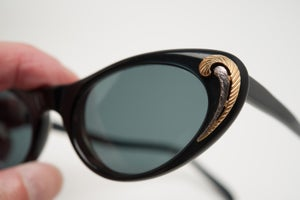 Image of Vintage Christian Dior Sunglasses from the 1950's Excellent Cat Eye Couture Designer