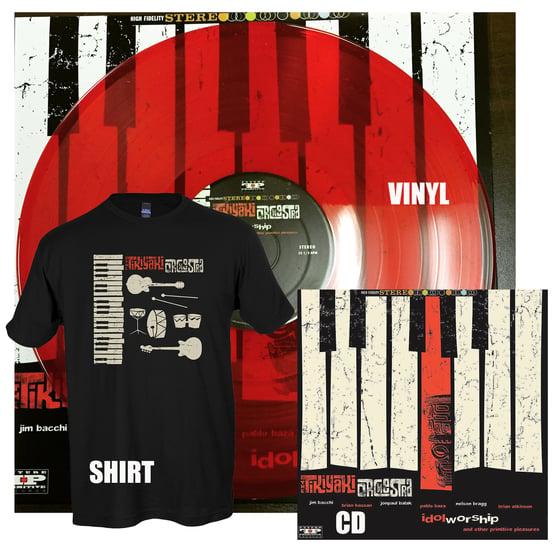 "Image of ""Idol Worship and other Primitive Pleasures"" CD/Vinyl LP/Shirt Bundle 2015"