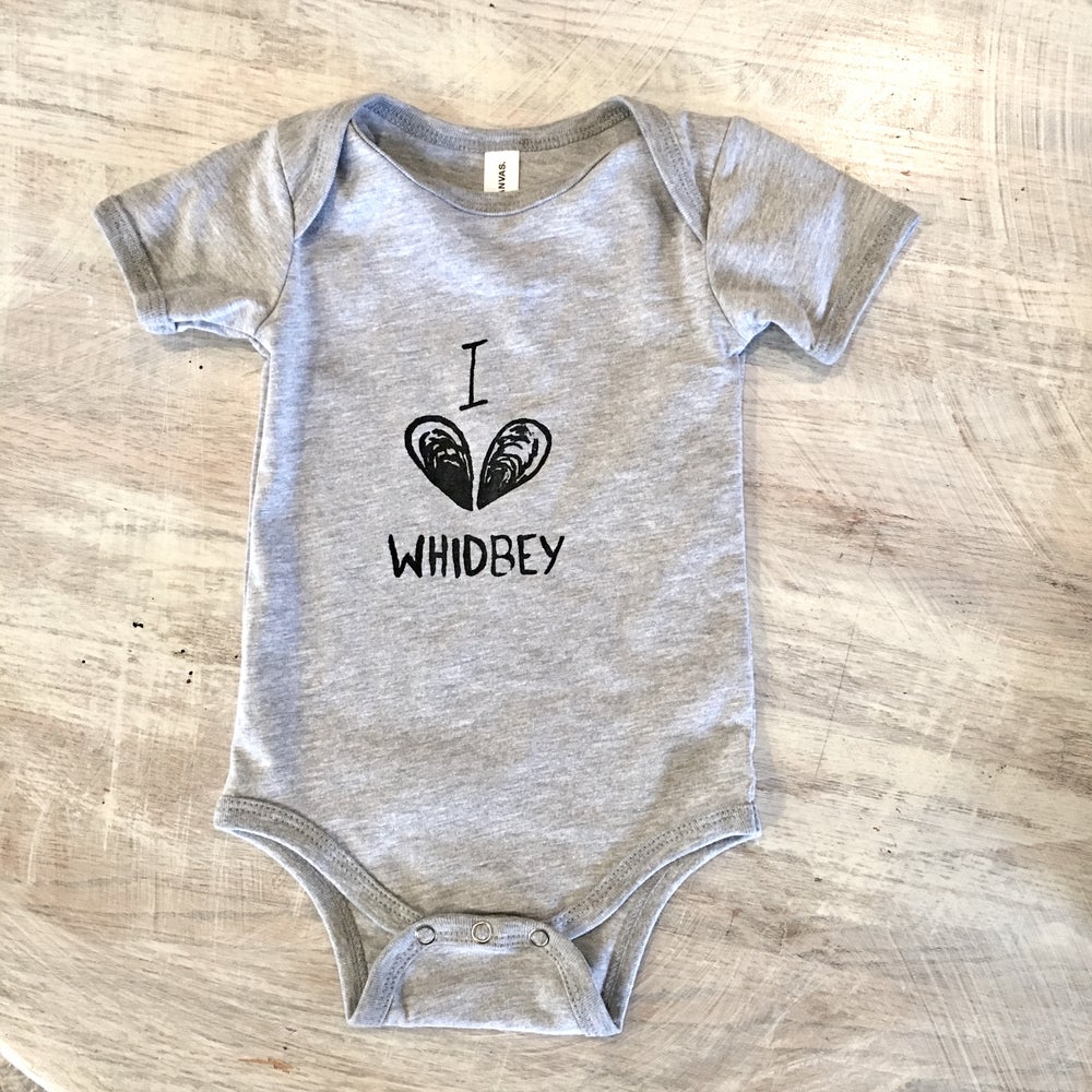 Image of I love Whidbey onesie