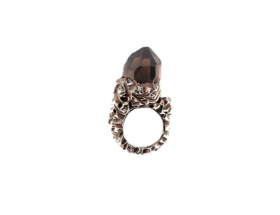 Image of One of a Kind Smokey Quartz Ring