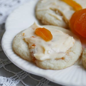 Image of Apricot Butter Cookies (TWO DOZEN)