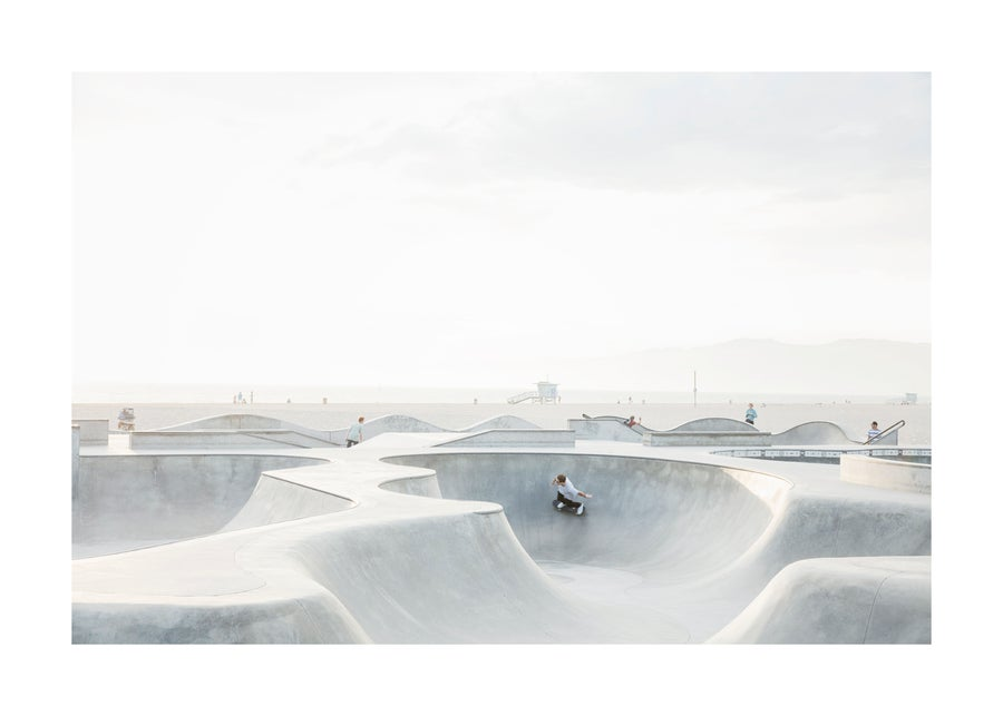 Image of Skate Park, California - Limited Edition Archival Print - Small