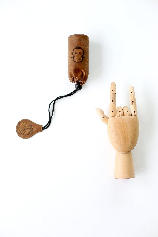 Image of Monkey Climber Ltd. Ed. Alarm Pouch I Leather