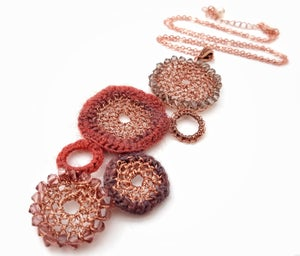 Image of CIRCLES NECKLACE
