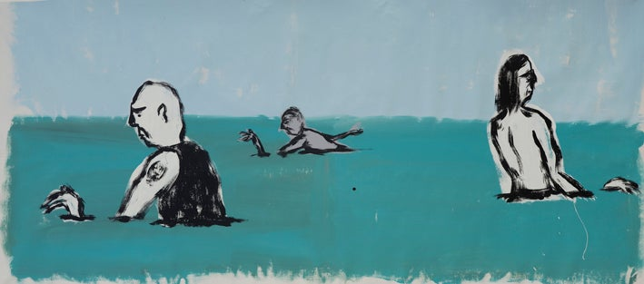 Image of Russ Pope - Summer Swimmers
