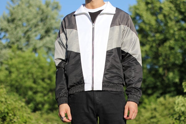 Image of Retro Windbreaker Mono
