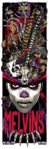Image of MELVINS - Witch Doctor - gigposter