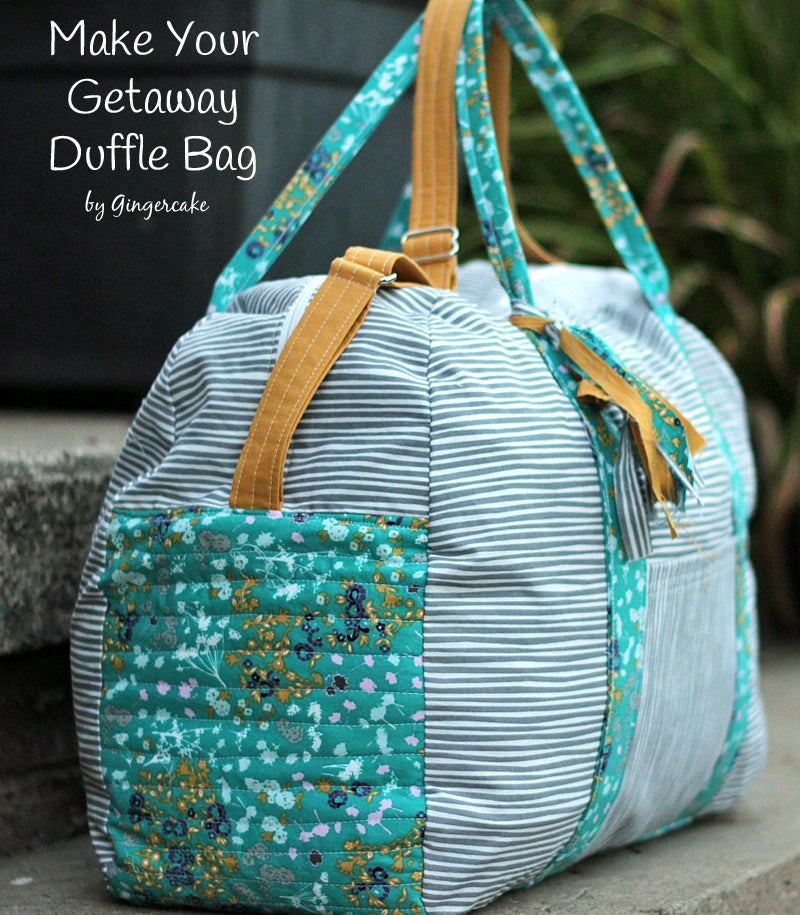 Image of Make Your Getaway Duffle Children and Adult Sizes PDF pattern!