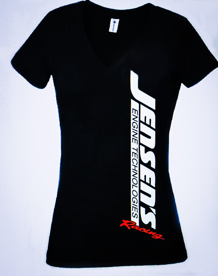 Image of LADIES Racing Logo V Neck