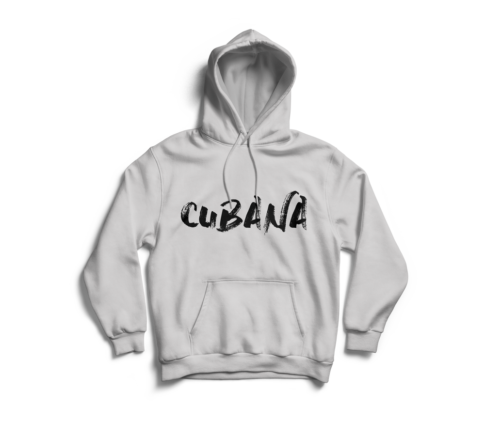 Image of CUBANA Grey Pull-Over Hoodie