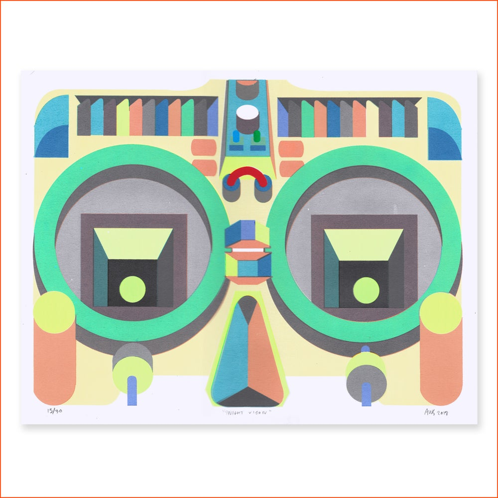 Image of <b>Night Vision Glasses Print </b>