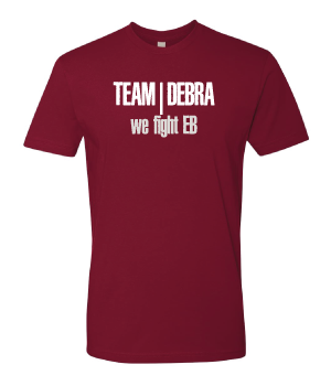 "Image of ""Team debra/We fight EB"" t-shirt"