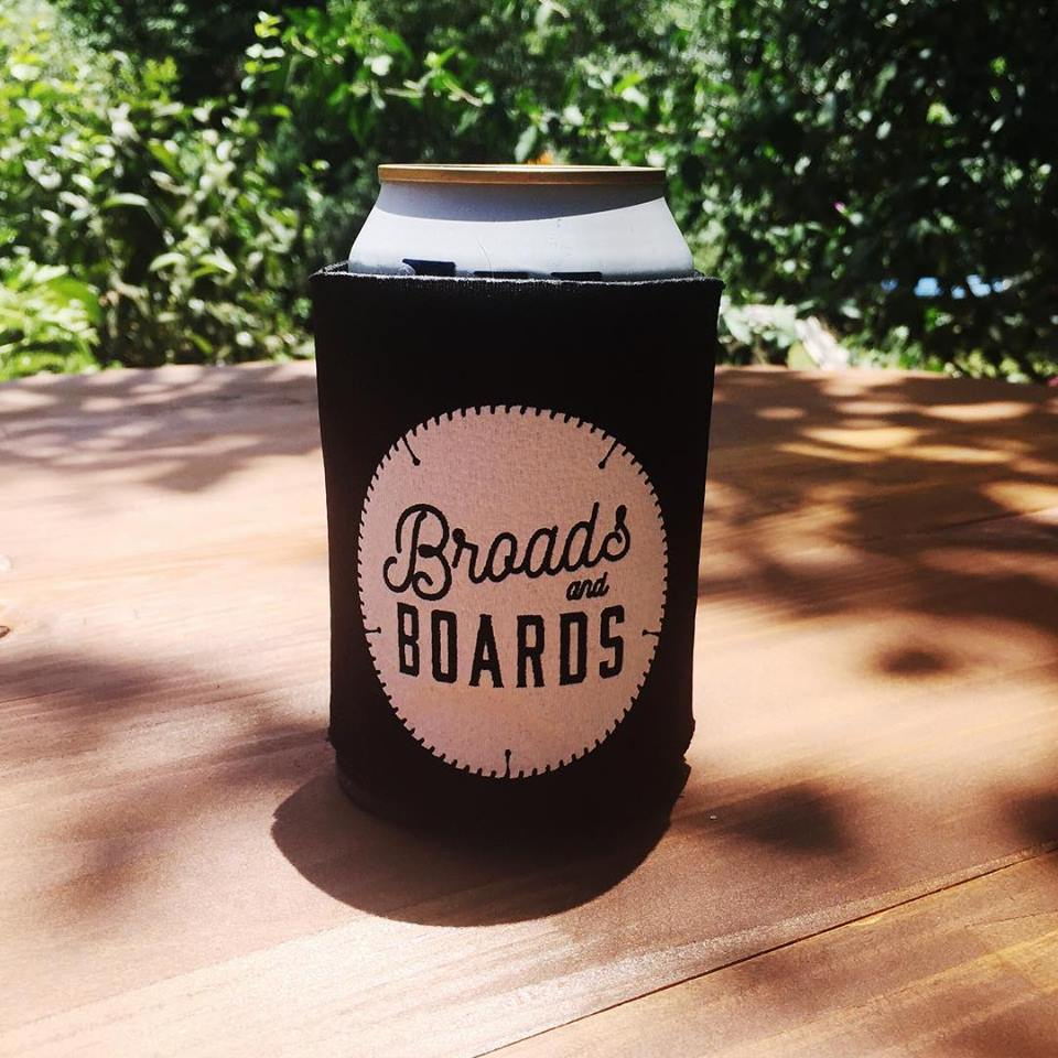 Image of Broads and Boards Koozie
