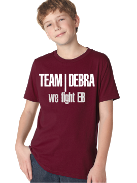 "Image of Team debra/We fight EB"" Youth T-shirt"