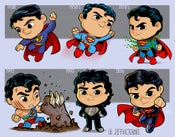 Image of Evolution of Superman