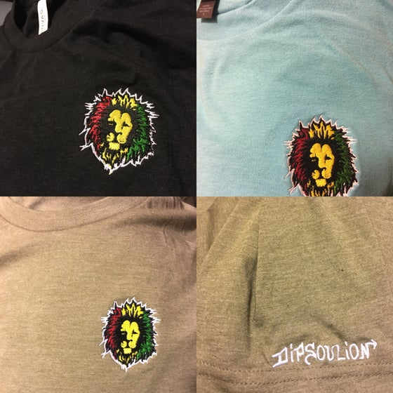 Image of Custom embroidered DiPSouLion T-shirt