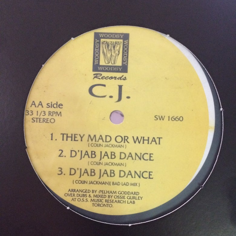 Image of C.J. - Jab Jab Dance