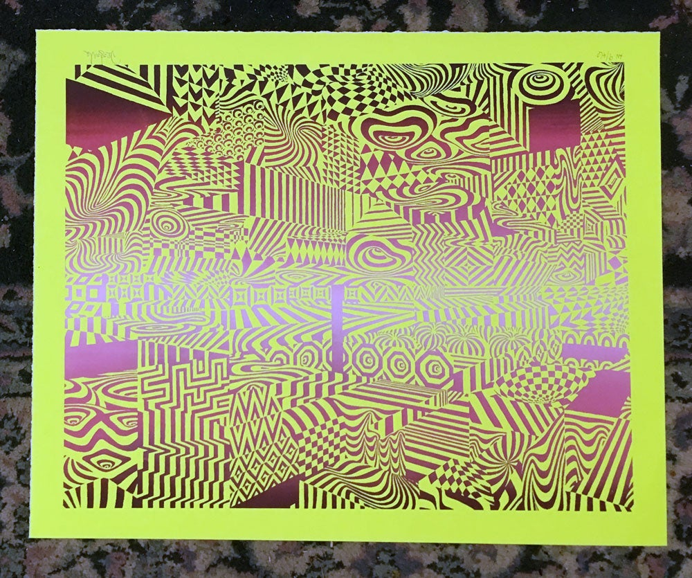 Image of opart neon variant