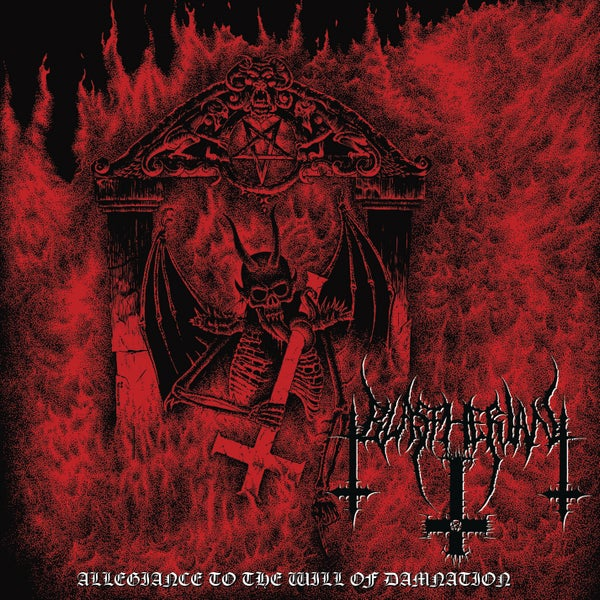 "Image of BLASPHERIAN "" Allegiance To the Will of Damnation "" CD"