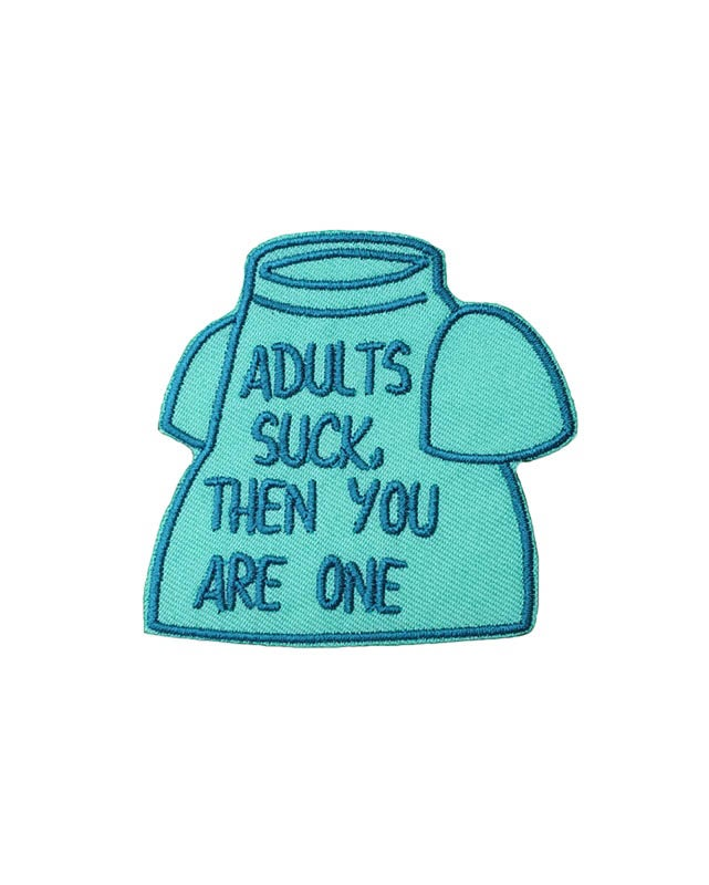 Image of Adults Suck Patch