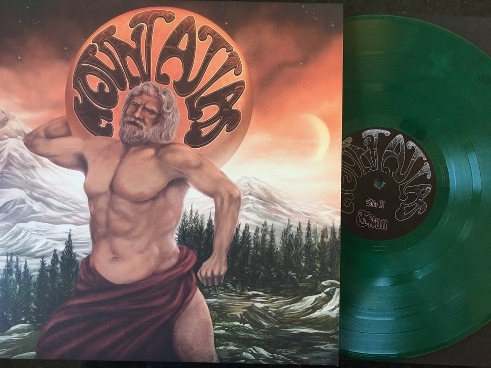 "Image of Mount Atlas - S/T Green Vinyl ""Ripple North America"" Edition LP"