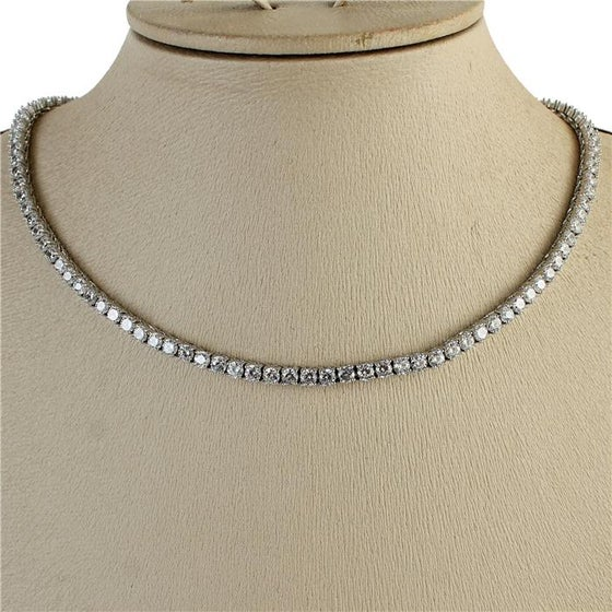 Image of CZ  Pave Necklaces