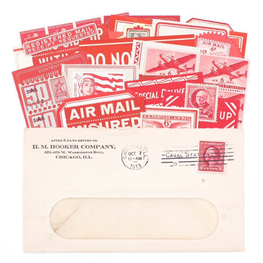 Image of Red Mail Ephemera Collection