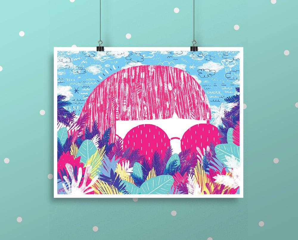 "Image of ""Jungle Creep"" Print"