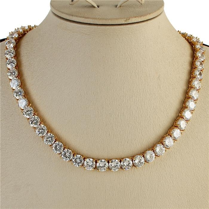 Image of Pave CZ Necklaces