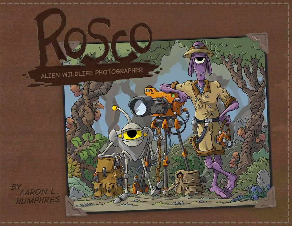 Image of Rosco: Alien Wildlife Photographer
