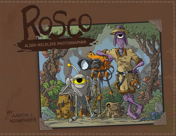 Image of Rosco: Alien Wildlife Photographer