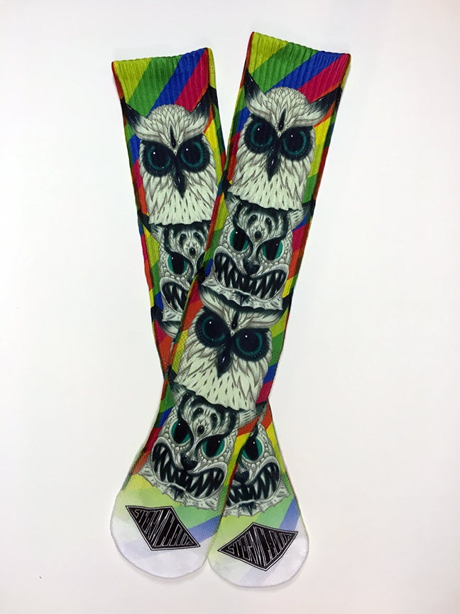 Image of Neko Rainbow Sublimated Socks