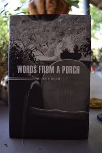 Image of Jeremy Bolm 'Words From  a Porch'