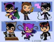 Image of Evolution of Catwoman